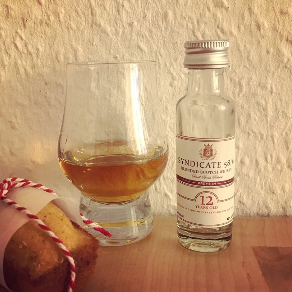 Syndicate 58/6 by Douglas Laing & Aberlour 21yo by Whic (Single Cask Blended Malt Whisy Bourbon Sherry Oloroso Tasting Notes)