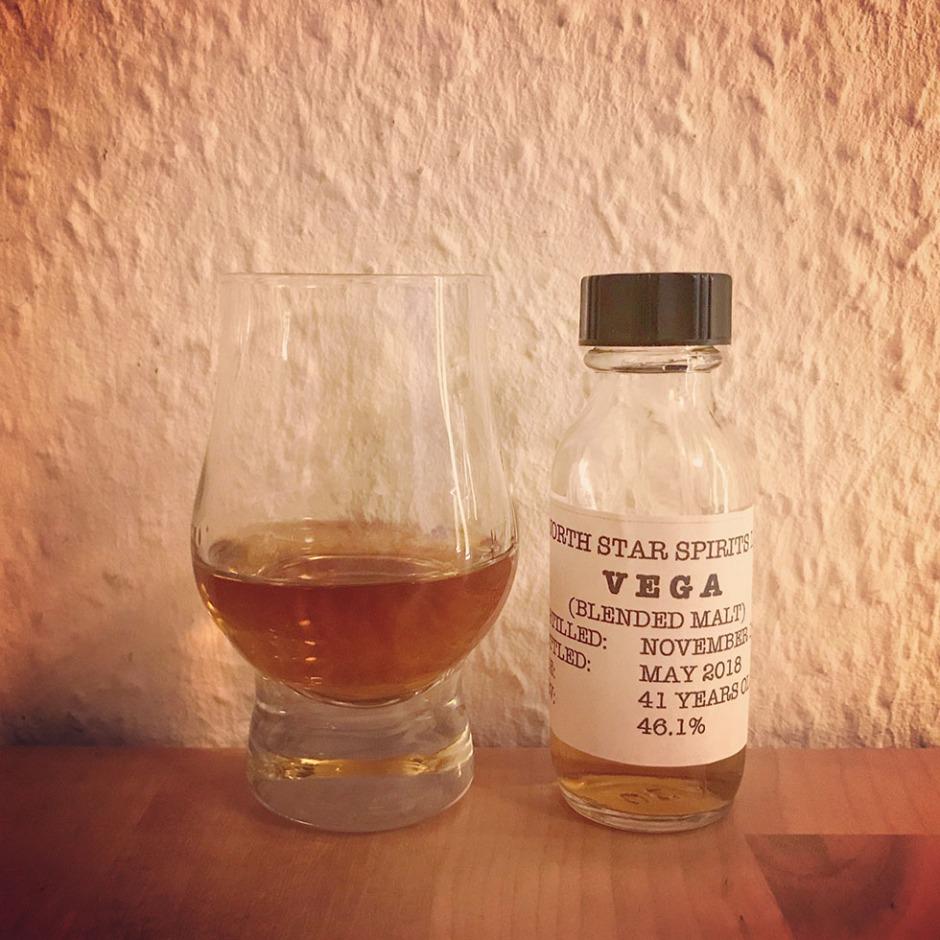 Spica 20yo and Vega 41yo by North Star Spirit (Premium Blended Malt Scotch Whisky Sherry Cask Tasting Notes Review Blog)