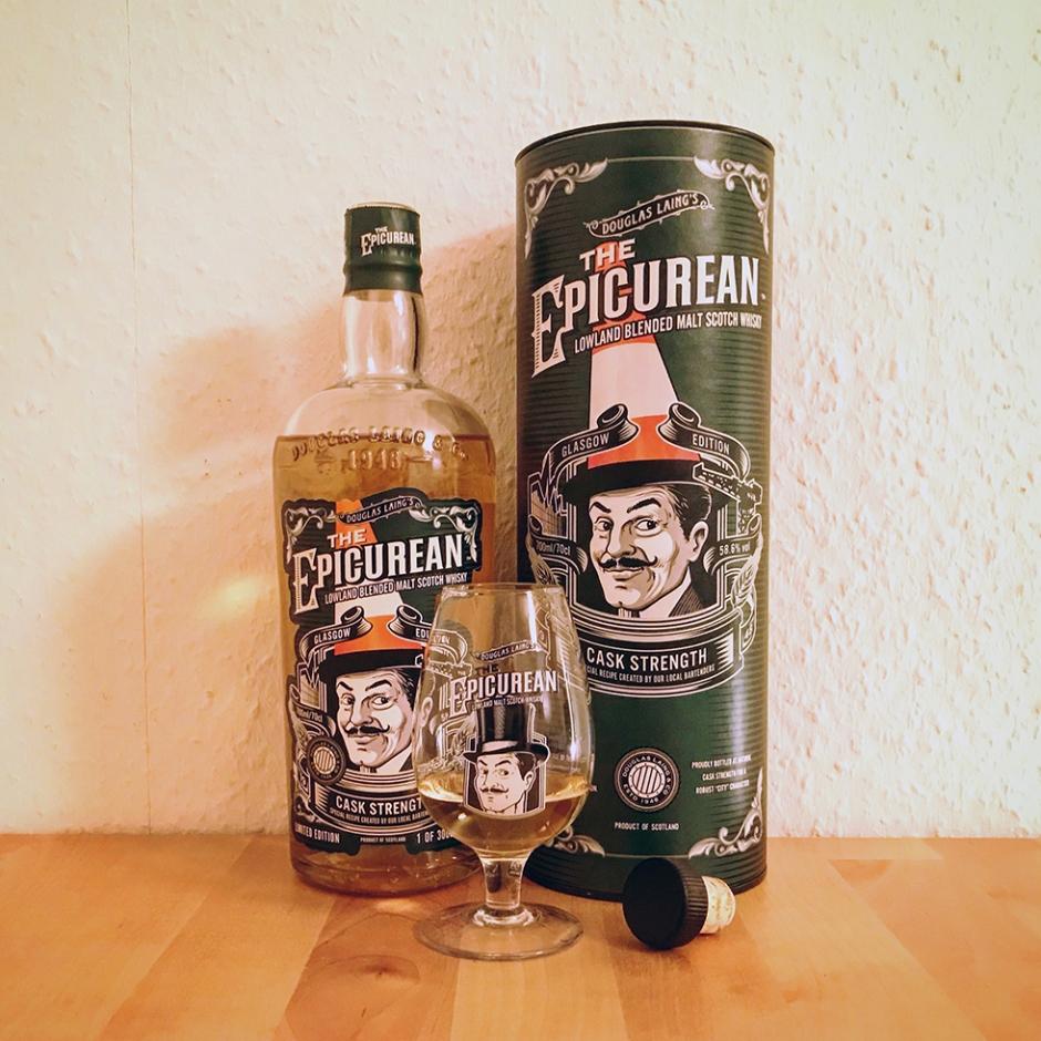 The Epicurean - Glasgow Edition by Douglas Laing (Remarkable Malts Lowlands Blended Malt Whisky Cask Strength Tasting Notes)