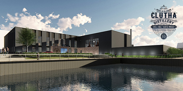 Douglas Laing's Clutha Distillery in Glasgow (Single Malt Scotch Whisky River Clyde Announcement Reveal)