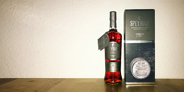 Speyburn 14yo Single Cask (Speyside Single Malt Scotch Whisky Sherry Cask Tasting Notes)