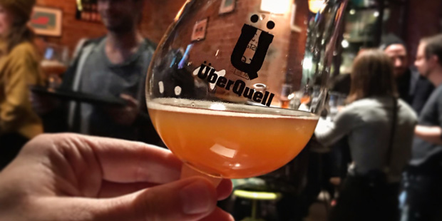 J-Day and New Brew at UeberQuell in Hamburg, St. Pauli (Craft Beer Aalborg Akvavit Danish Dansk Denmark Julebryg Event)