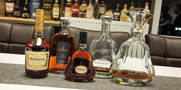 Hennessy Cognac Master Class with Herr Lutz (Weinquellle Hamburg Spirits Premium Luxury Tasting)