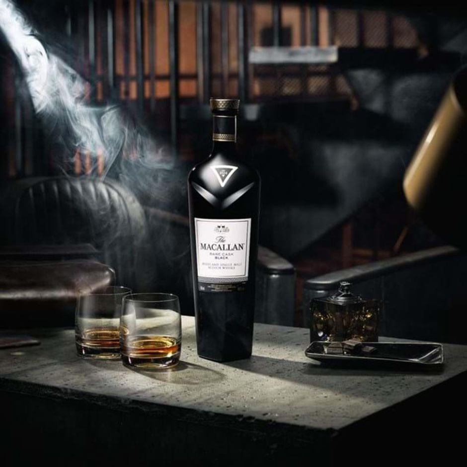 The Macallan Rare Cask Black (Speyside Single Malt Scotch Luxury Whisky NAS)