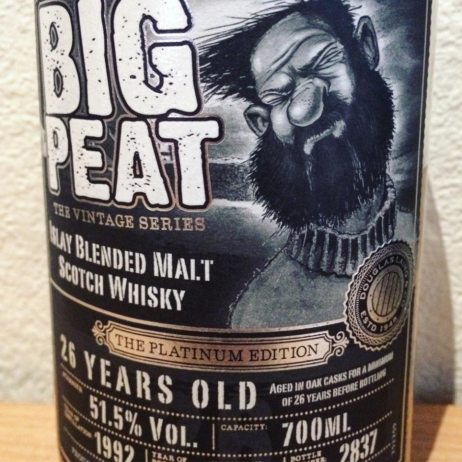 Big Peat 26yo Platinum, by Douglas Laing & Remarkable Malts (Single Malt Islay Scotch Whisky Ardbeg Bowmore Port Ellen)