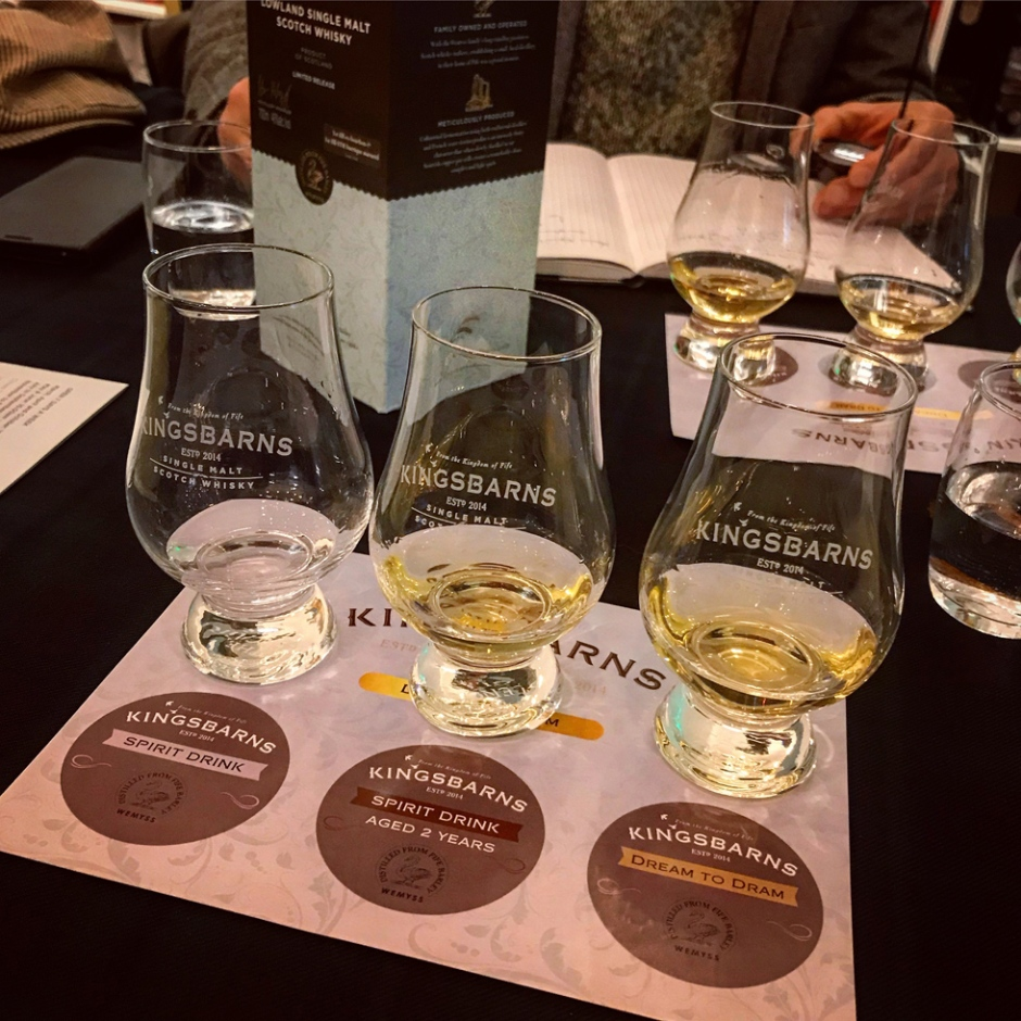 Kingsbarns Dream To Dram Premiere Tasting at Hanse Spirit by Alba Import / Vibrant Stills (Lowlands Single Malt Whisky Distillery)