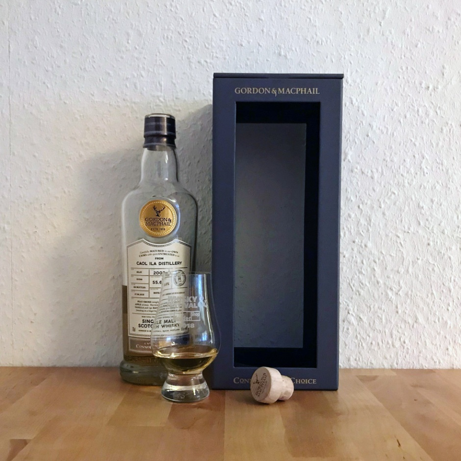 Caol Ila 14yo Connosoir's Choice by Gordon & MacPhail (Peated Single Malt Islay Scotch Whisky Cask)