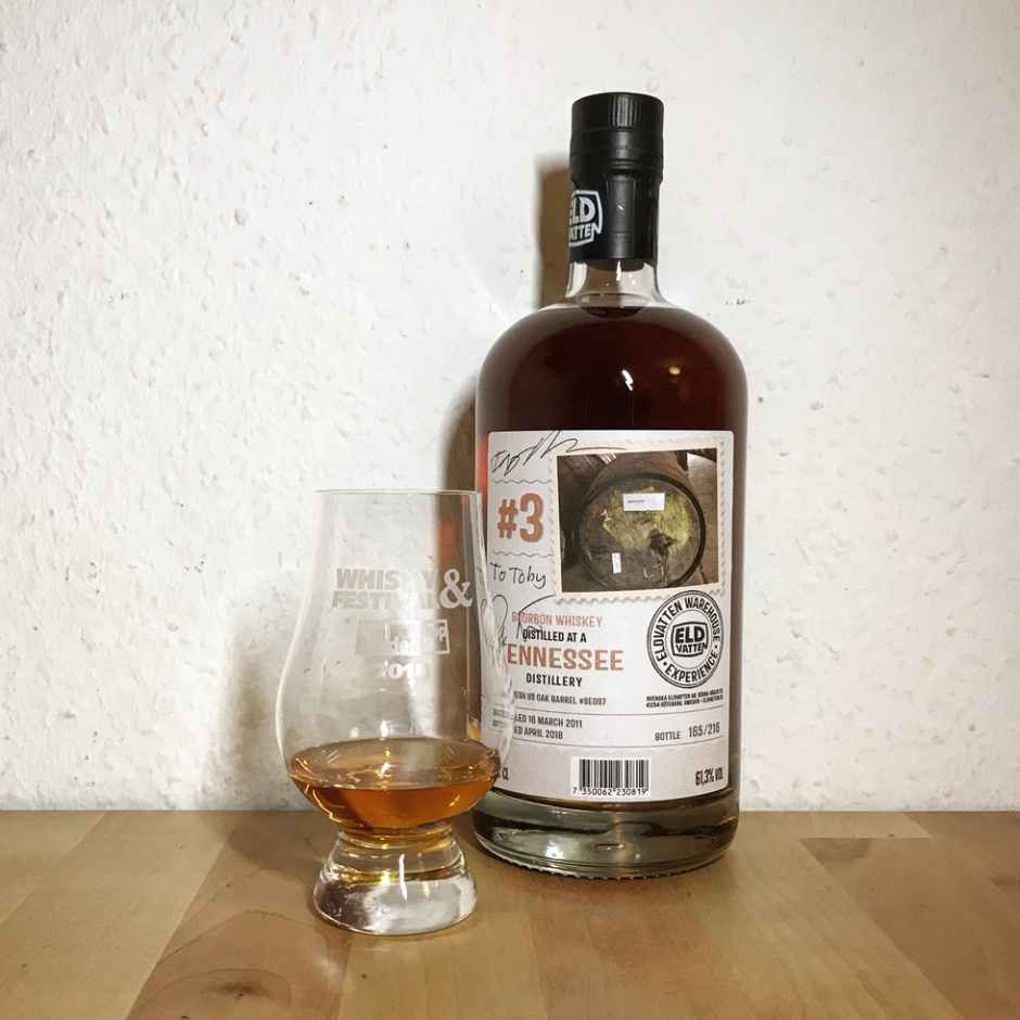 Tennessee Bourbon 7yo by Svenska Eldvatten (Independent Cask Strength American Whiskey Tasting Notes)