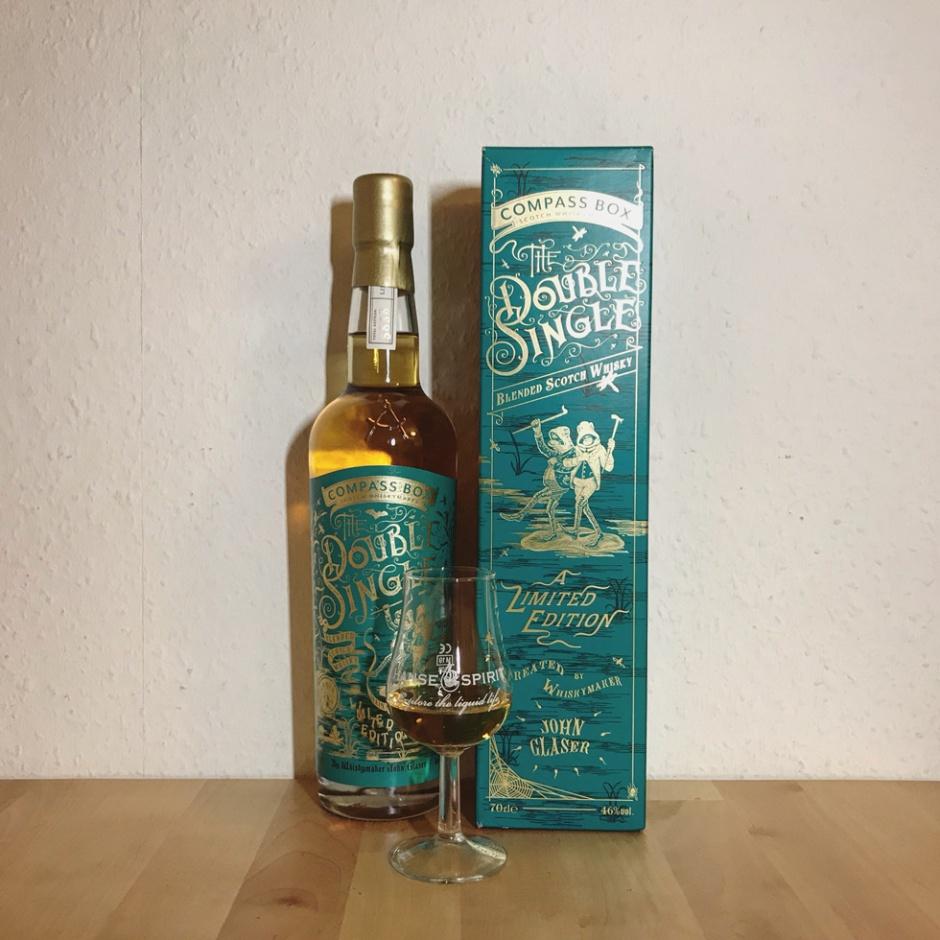 The Double Single by Compass Box (Blended Malt Scotch Whisky Girvan Glen Elgin Speyside Dram Tasting Notes)