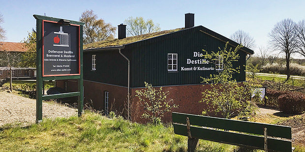 Dollerupe Destille in Northern Germany (Single Malt Whisky Rum Gin Spirit Distillery Visit Travel BarleyMania)