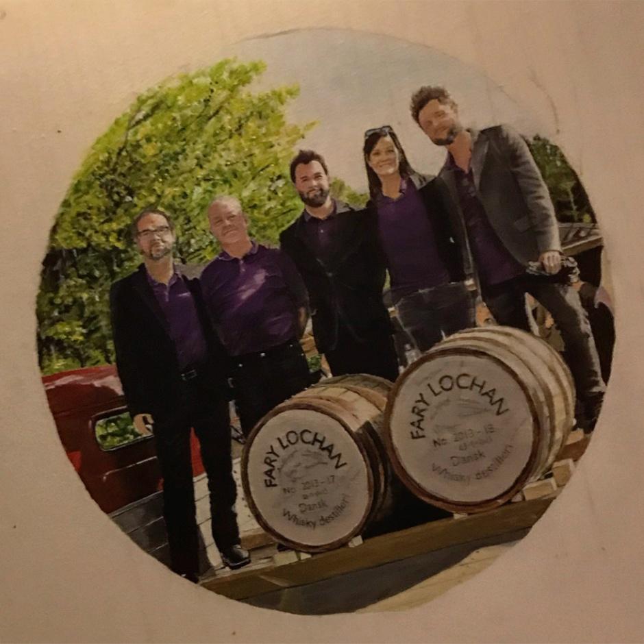 Fary Lochan Distillery in Denmark (Dansk Single Malt Whisky Spirits Tour BarleyMania)