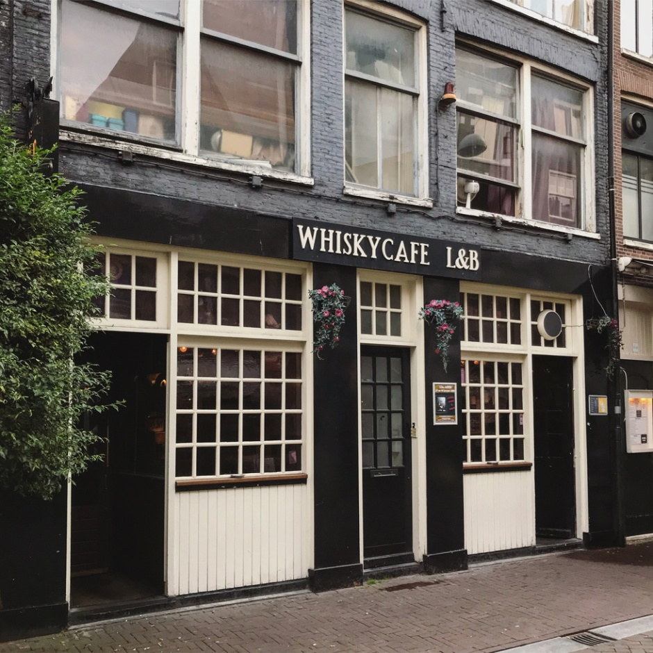 Whisky Cafe L&B in Amsterdam (Single Malt Scotch Whiskey Bourbon Dramming Afterwork Bar)