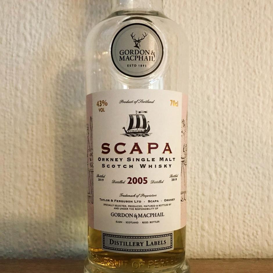 Scapa 14yo by Gordon & MacPhail (Single Malt Orkney Islands Scotch Whisky Independent Bottling Tasting Notes)