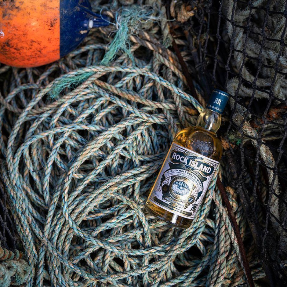 Rock Island by Remarkable Malts and Douglas Laing (Blended Malt Scotch Whisky Arran Islay Jura Orkney BarleyMania Tasting Notes)