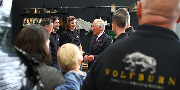 Royal Visit to Wolfburn Distillery in Thurso (Single Malt Scotch Whisky HRH Prince Charles BarleyMania)