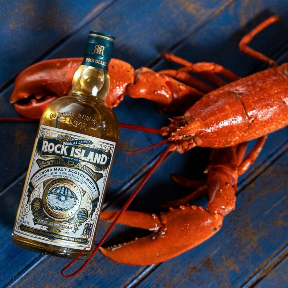 Rock Island by Douglas Laing and Remarkable Malts (Blended Malt Maritime Scotch Whisky Interview)