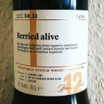 "Strathisla 12yo ""Berried Alive"" by The Scotch Malt Whisky Society (SMWS Speyside Tasting Notes Blog BarleyMania)"
