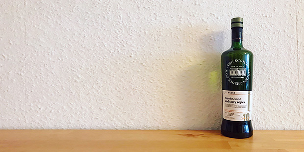 Ardmore 10yo Smoke Soot and Tarry Ropes by The Scotch Malt Whisky Society (Single Cask Highland Dram Tasting Notes)