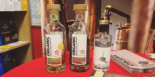 Mosgaard Whisky from Denmark (Organic Dansk Single Malt Tasting Notes Dram Event BarleyMania)