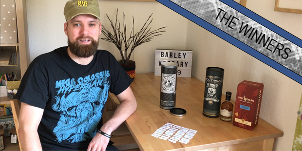 BarleyMania's Barleyversary 2019 (Single Blended Malt Scotch Whisky Scallywag Fary Lochan Kilchoman Weinquelle Give-Away Prize)