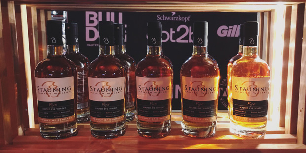 Stauning Whisky at Man's World in Hamburg (Danish Distillery Tasting Event BarleyMania)