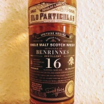 Benrinnes 16yo by Douglas Laing's Old Particular (Single Cask Malt Scotch Whisky Sherry Notes)