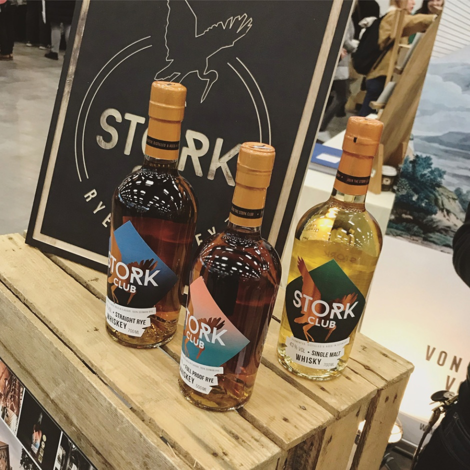 Holy Shit Shopping 2019 in Hamburg (Kyrö Distillery Stork Dolleruper Destille Rye Whisky Fair Event)