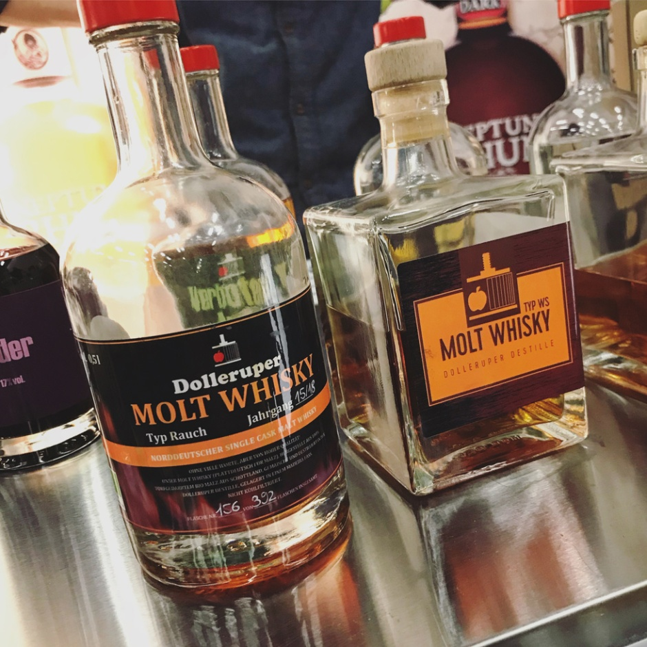 Holy Shit Shopping 2019 in Hamburg (Kyrö Distillery Stork Dolleruper Destille Rye Whisky Fair Event)