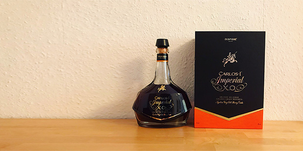 Imperial XO by Carlos I Brandy (Sherry Casks Spain Spirit Tasting Notes Osborne Blog)