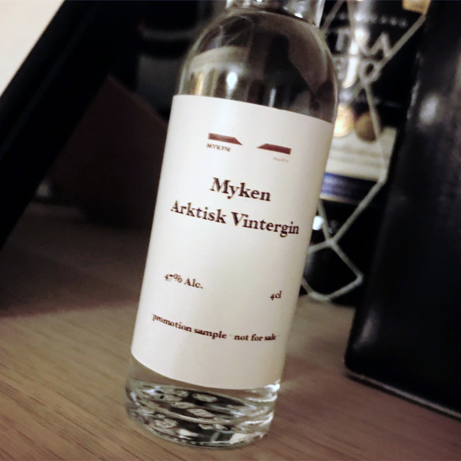 Whisky and Gin by Myken Distillery from Norway (Peated Sherry Single Malt Arctic Spirit Scandinavia Tasting Notes)