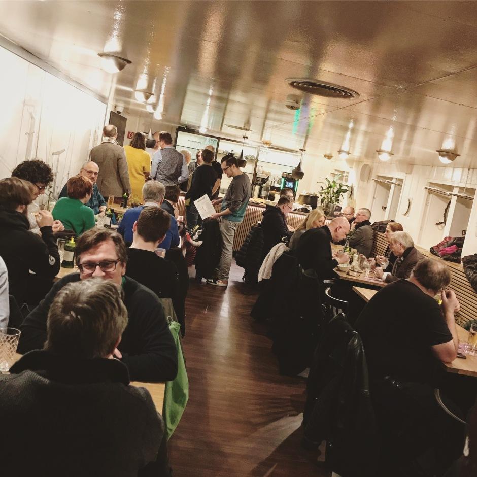 Open SMWS Bar at Cap San Diego in Hamburg (Single Malt Scotch Whisky Society Dramming Event)