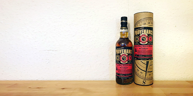 Miltonduff 10yo Provenance by Douglas Laing (Single Malt Cask Scotch Whisky Sherry Speyside Tasting Notes)