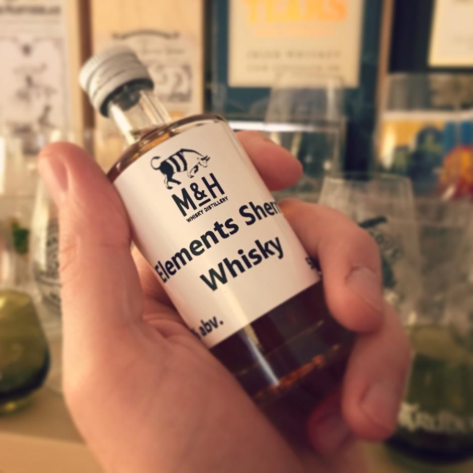 4 whisky & cask samples from The Milk & Honey Distillery in Israel (Single Malt Sherry Classic Tasting Notes Blog)