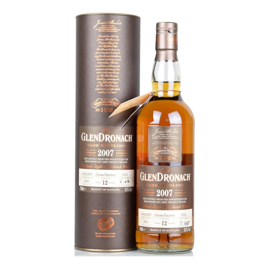 3 Single Cask Scotch Malt Whisky Exclusives bei DeinWhisky.de (Tamdhu Glendronach Benromach Speyside Tasting Notes)