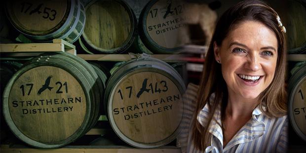 Cara Laing on Strathearn Distillery (Premium Highland Single Malt Whisky Douglas Laing Interview BarleyMania)