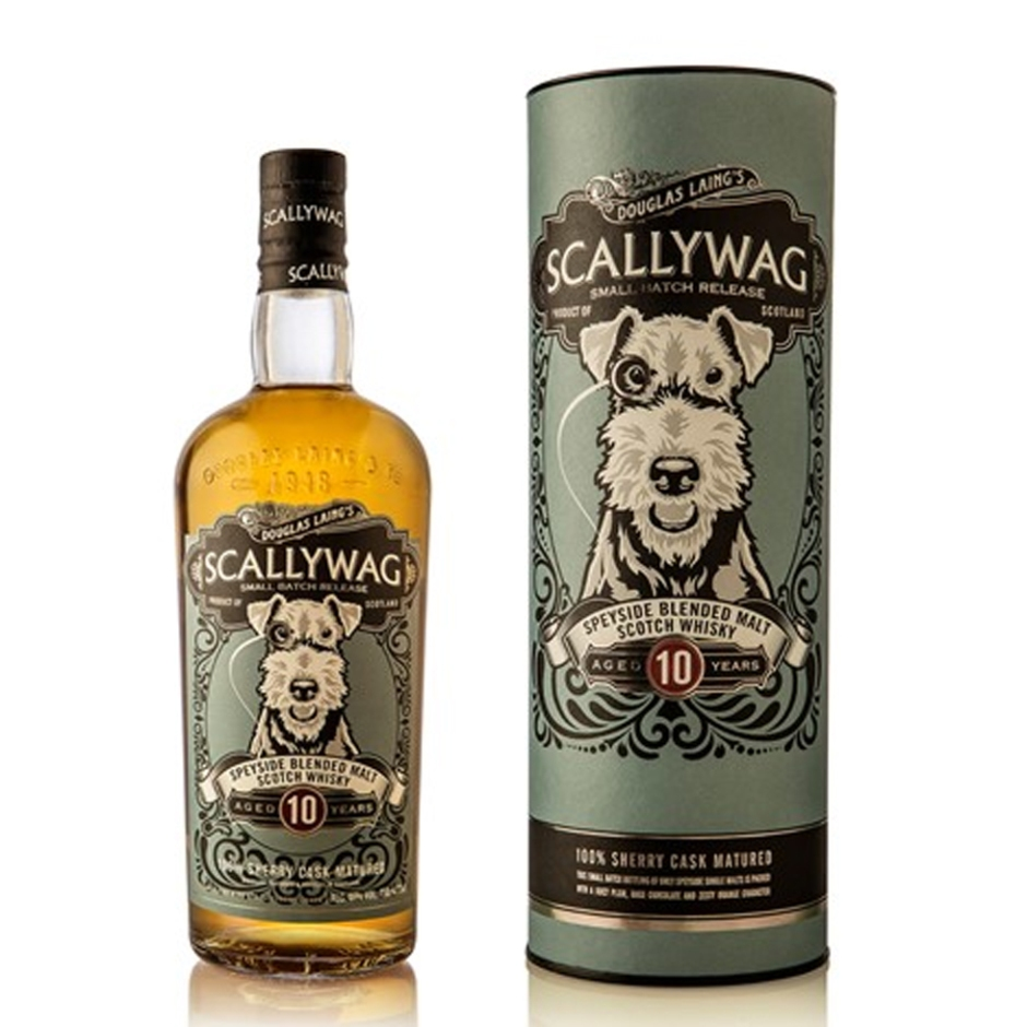 Scallywag 10yo Sherry Cask by Remarkable Malts (Douglas Laing Speyside Blended Malt Whisky Tasting Notes BarleyMania)