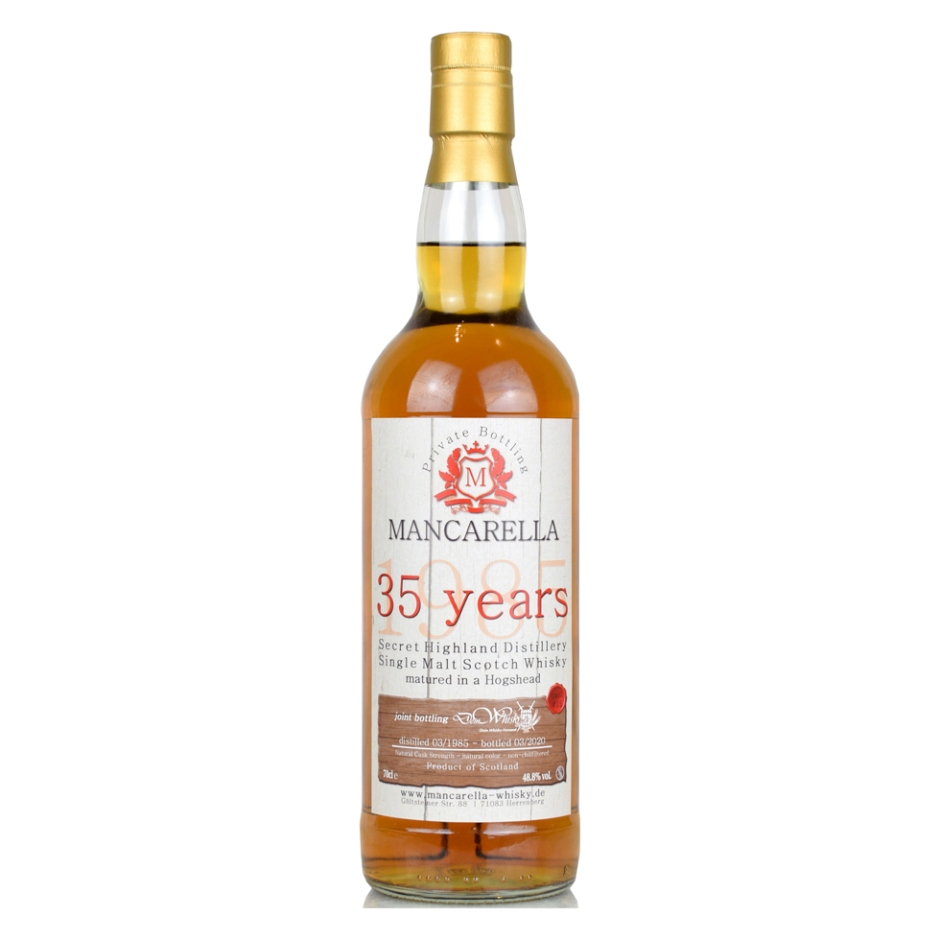 Exclusive Joint Bottlings by DeinWhisky.de & Mancarella (Single Malt Blended Scotch Whisky Sherry Tasting Notes BarleyMania)