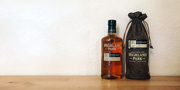 Highland Park 12yo Single Cask for Arlanda Airport (Orkney Islands Malt Scotch Whisky Tasting Notes Blog)