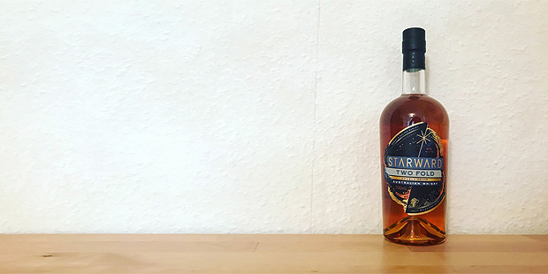 Starward Two-Fold Double Grain Australian Whisky (Wheat Malt Blend Red Wine Cask Tasting Notes BarleyMania)