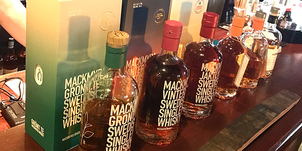 Mackmyra Jaktlycka Launch Tasting at Christiansen's in Hamburg (Sweden Single Malt Whisky Event BarleyMania)