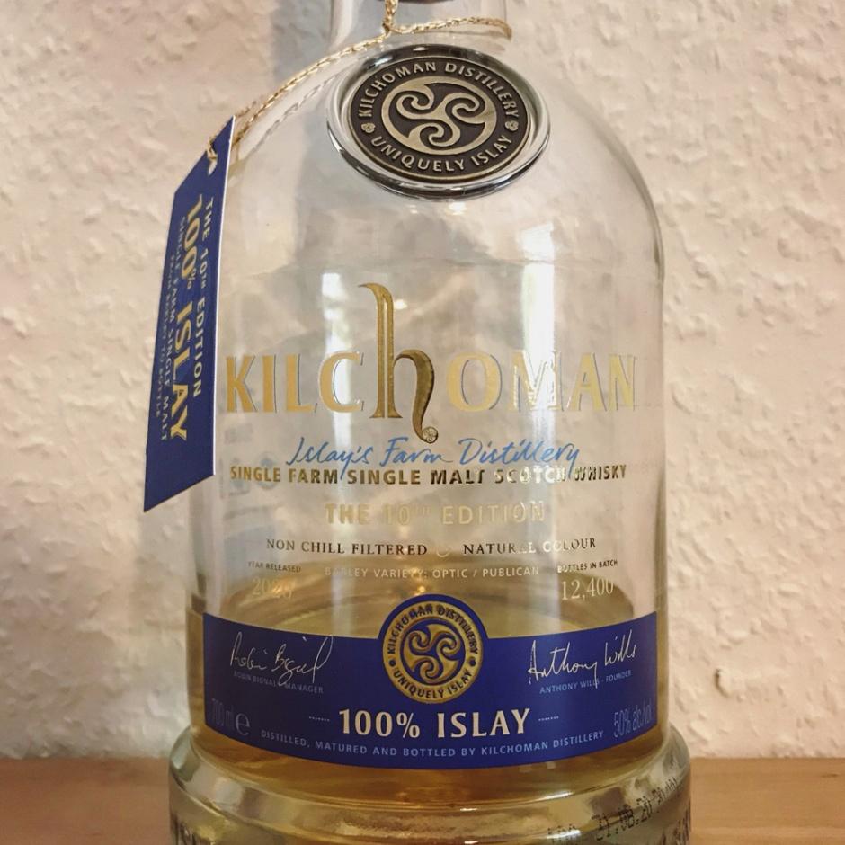 Kilchoman 100% Islay - The 10th Edition (Peated Single Malt Scotch Whisky Farm Distillery Blog Tasting Notes)