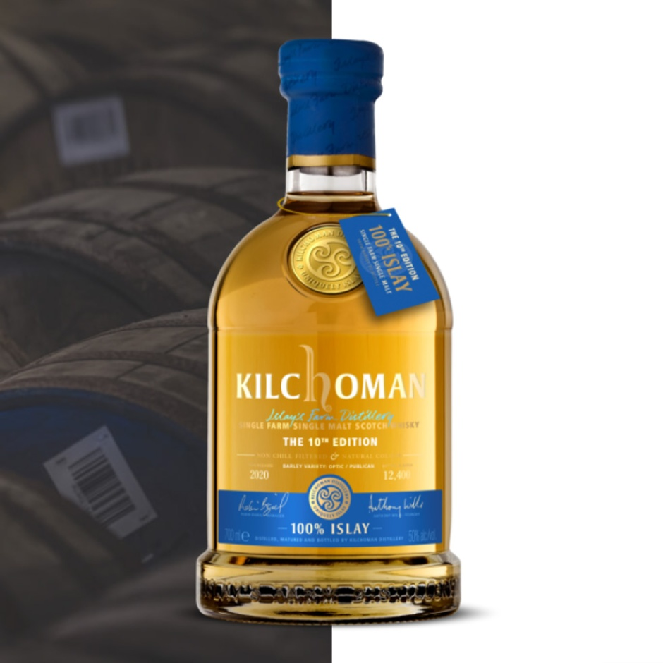 Kilchoman 100% Islay - The 10th Edition (Peated Single Malt Scotch Whisky Farm Distillery Blog Tasting Notes)