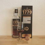 Glasgow 1770 Whisky for Kirsch Import (Single Malt Sherry Cask Scotch Whisky Tasting Notes Blog BarleyMania)