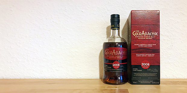 The GlenAllachie 2008 Cuvee (Speyside Single Malt Scotch Whisky Kirsch Import Tasting Notes BarleyMania Blog)
