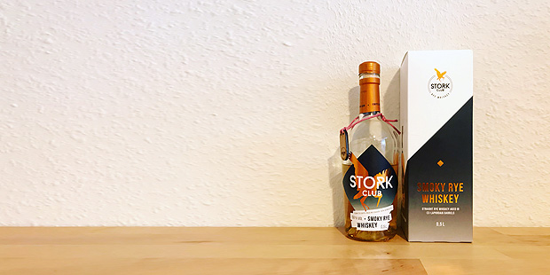 Stork Club Smoky Rye Whiskey (Islay Laphroaig Cask Limited Edition Whisky Blog Tasting Notes BarleyMania Berlin)