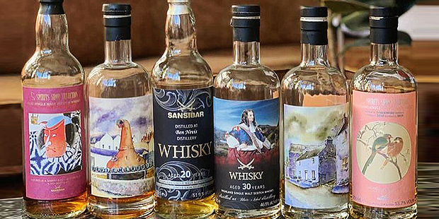 Sansibar Whisky Blind Tasting via Zoom (Single Cask Malt Scotch Indie Bottling Blog BarleyMania)