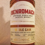 Benromach 12yo Sherry Cask for Germany (Speyside Malt Scotch Whisky Tasting Notes Blog BarleyMania)