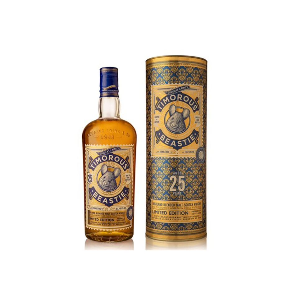 Timorous Beastie 25yo by Douglas Laing's Remarkable Malts (Blended Malt Scotch Whisky Burns Night BarleyMania)