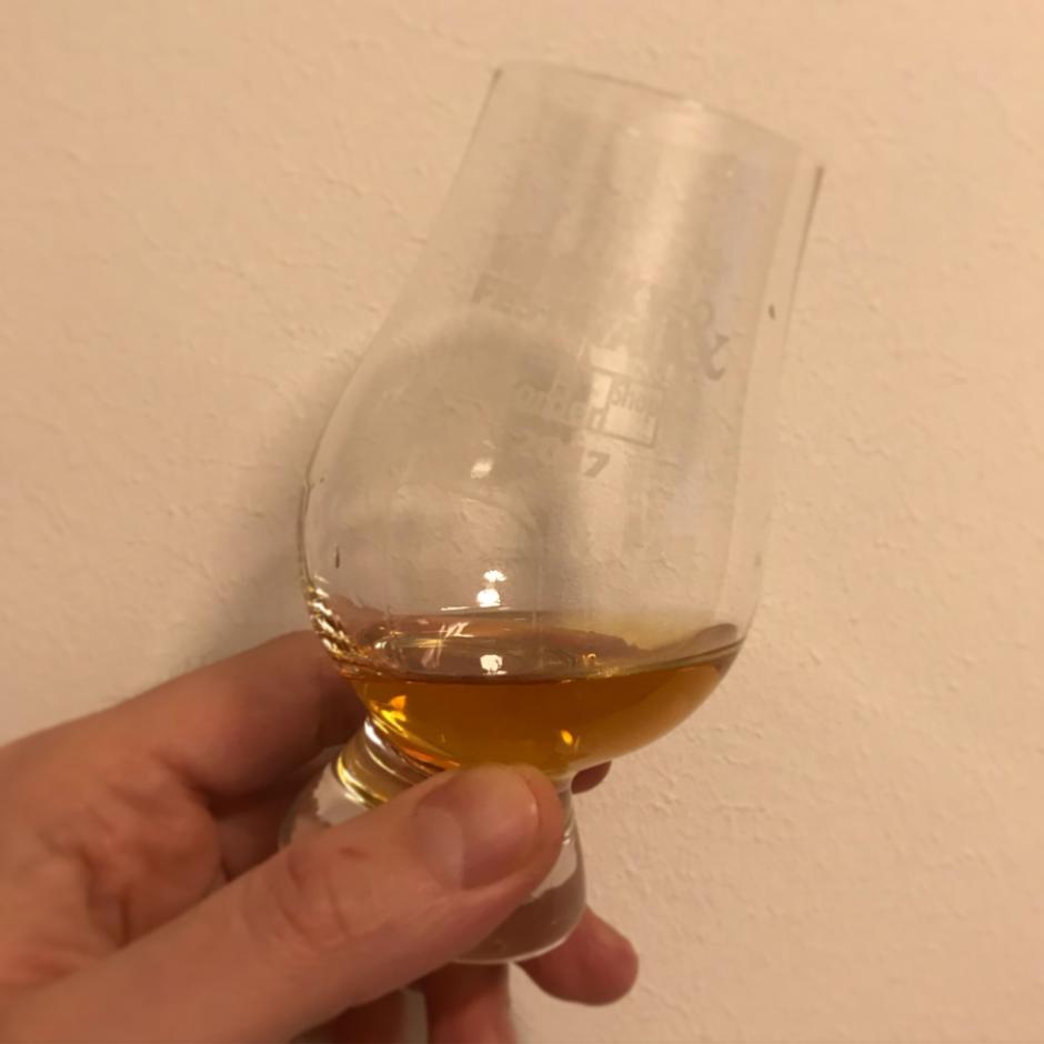 Glasgow 1770 Whisky Peated Release No. 1 (Single Malt Scotch Whisky Lowlands Tasting Notes Blog BarleyMania)
