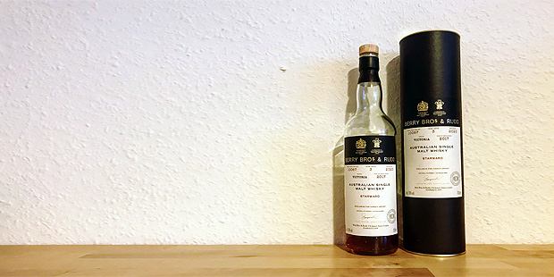 Starward 3yo by Berry Bros & Rudd for Kirsch Import (Australian Single Malt Whisky Tasting Notes Blog BarleyMania)